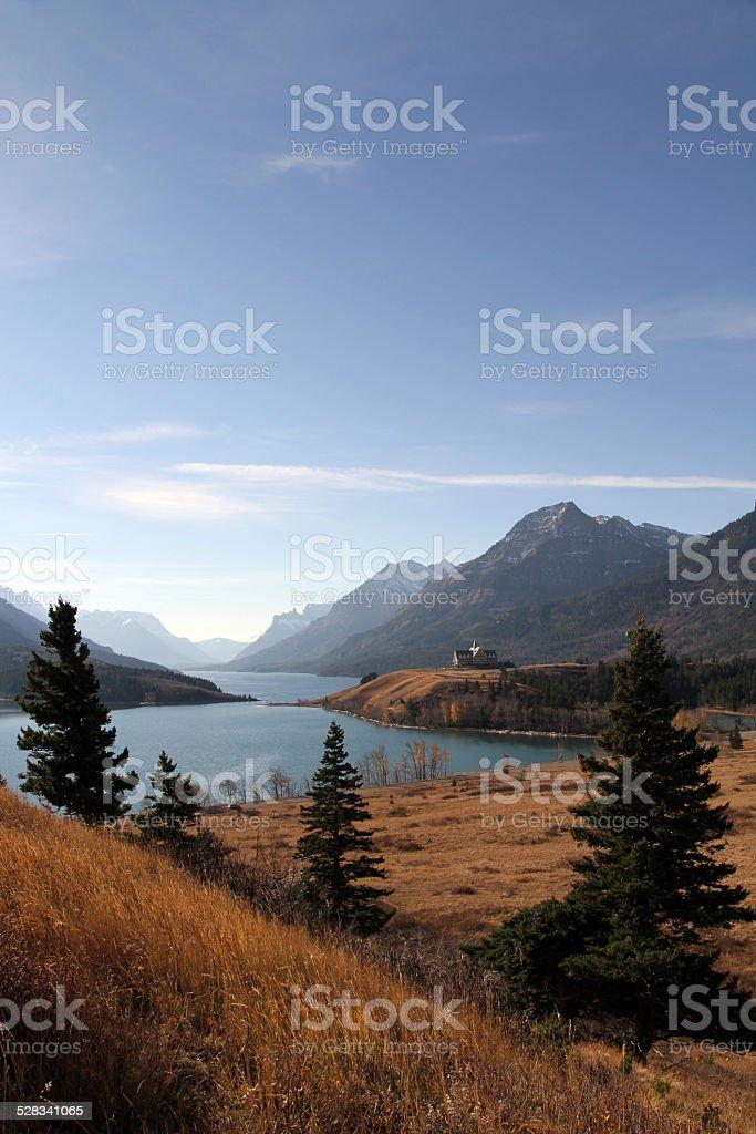 Alberta Valley stock photo