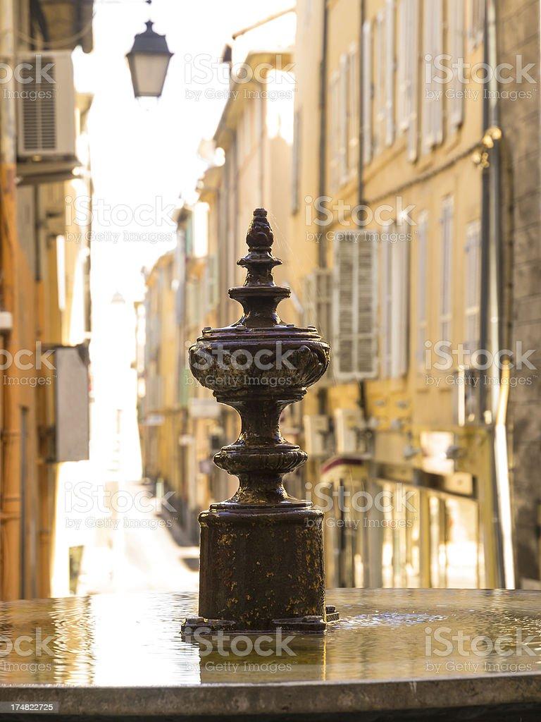 Albert's fountain stock photo