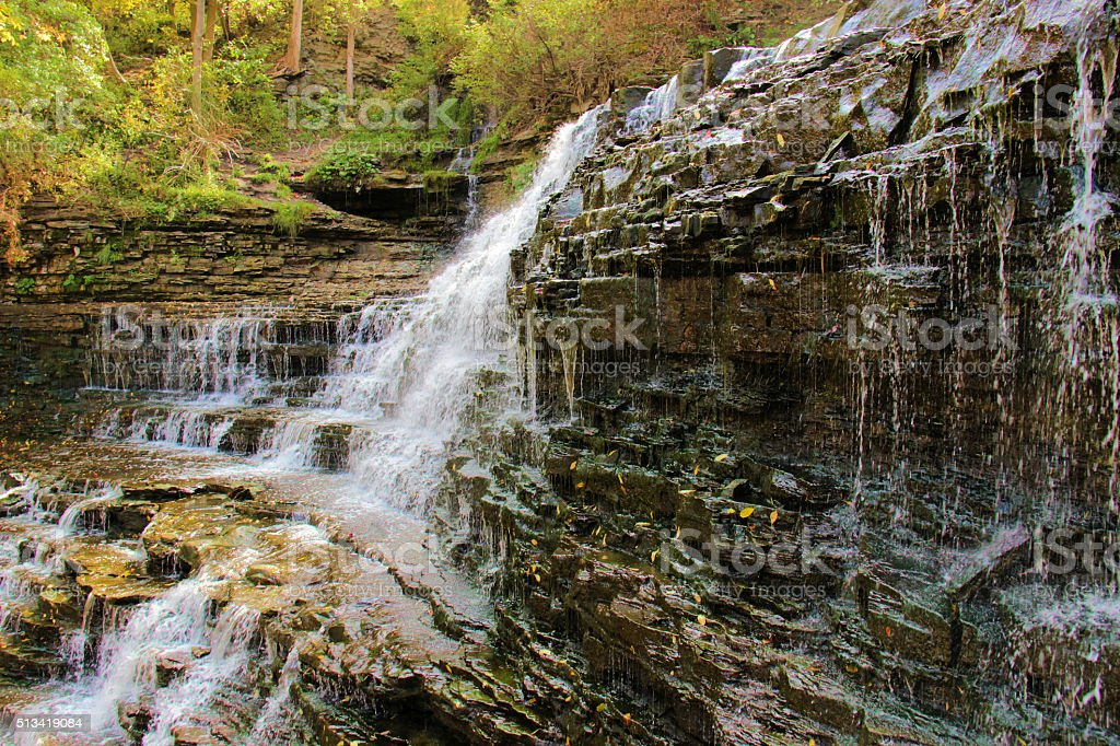 Albion Falls stock photo