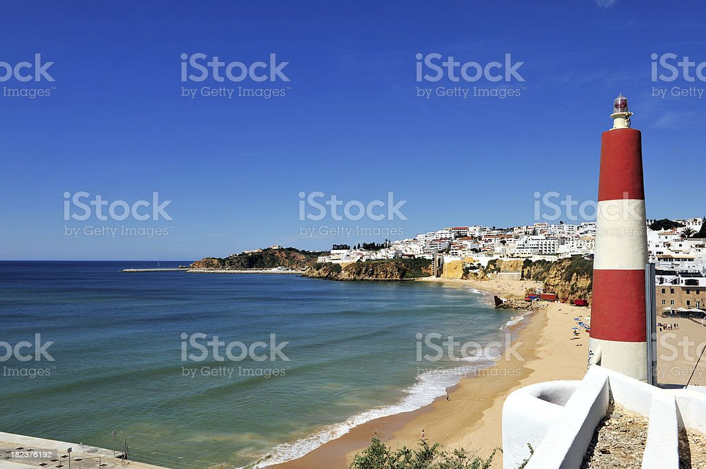 Plage d'Algarve, Albufeira, Portugal - Photo