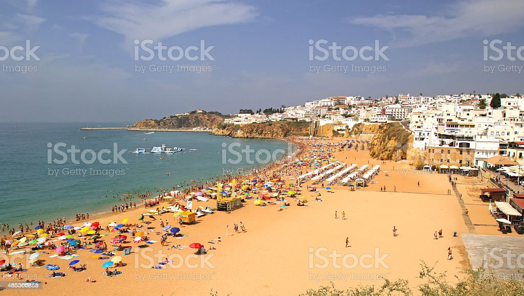 Albufeira dans l'Algarve, au Portugal. - Photo