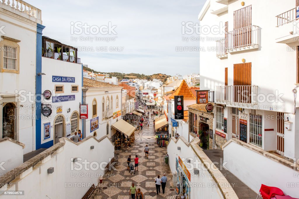 Ville d'Albufeira au Portugal - Photo