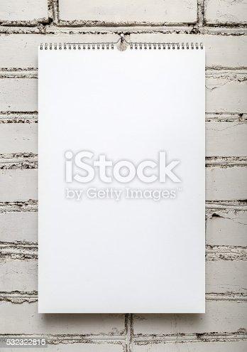 532332971 istock photo Album on a spring 532322815