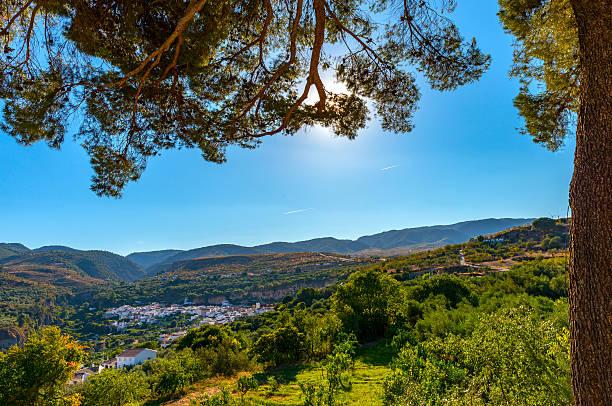 Albunuelas Village stock photo