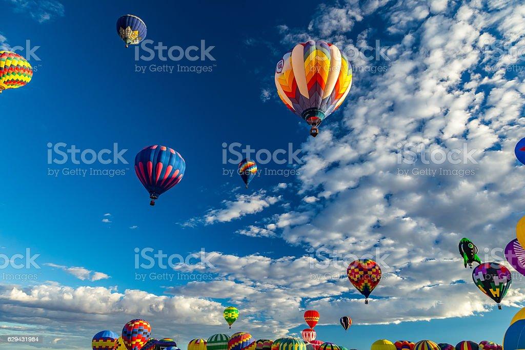 Albuquerque Hot Air Balloon Fiesta 2016 stock photo