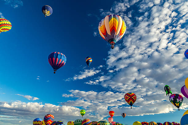 Albuquerque Hot Air Balloon Fiesta 2016 stock photo