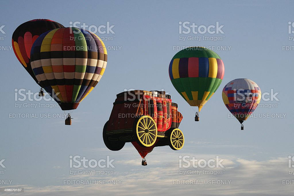 Albuquerque International Balloon Fiesta 2007 stock photo