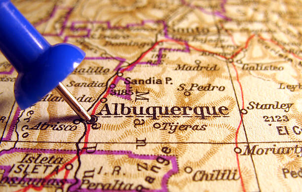 Albuquerque, New Mexico stock photo