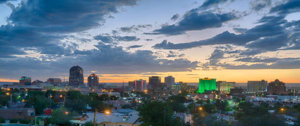 Albuquerque, New Mexico Skyline stock photo