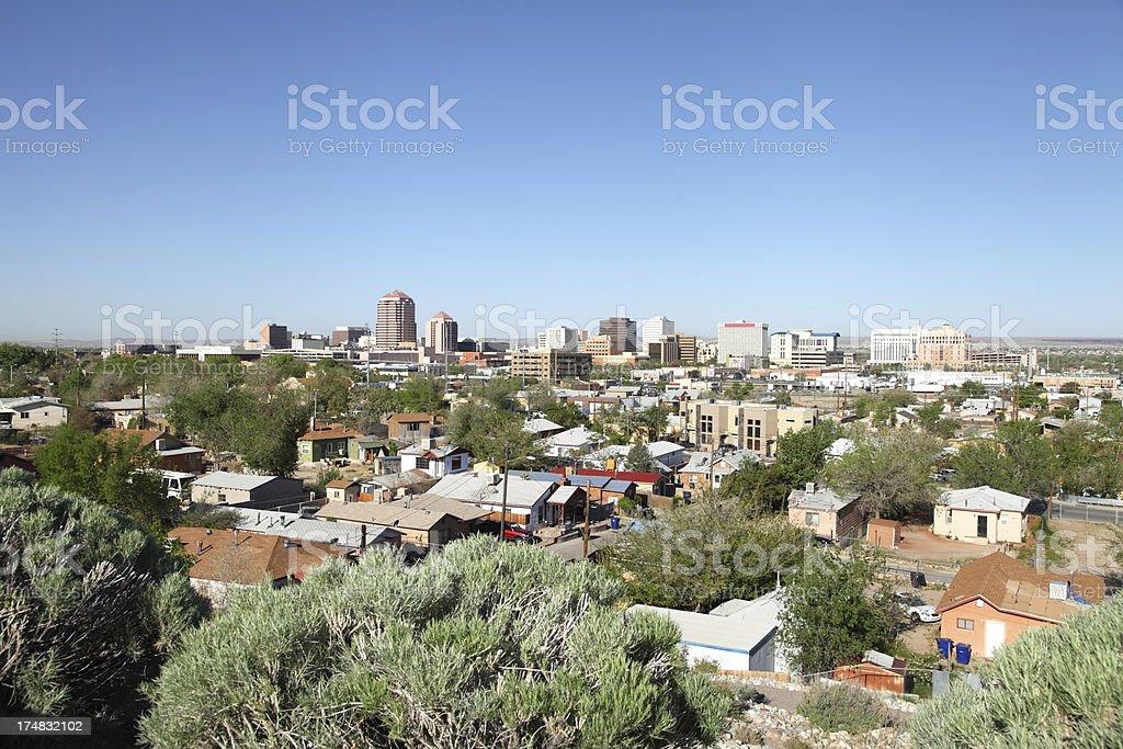 Albuquerque royalty-free stock photo