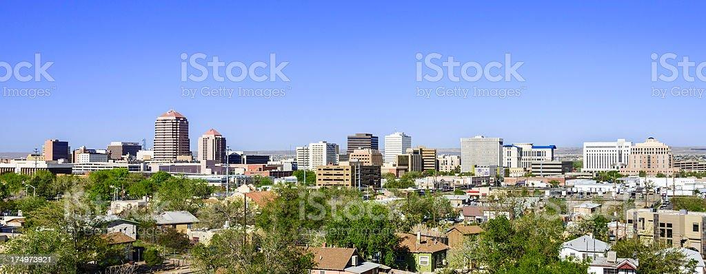 Albuquerque skyline stock photo
