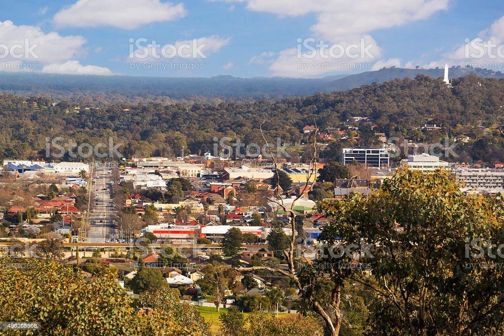 Albury, NSW stock photo