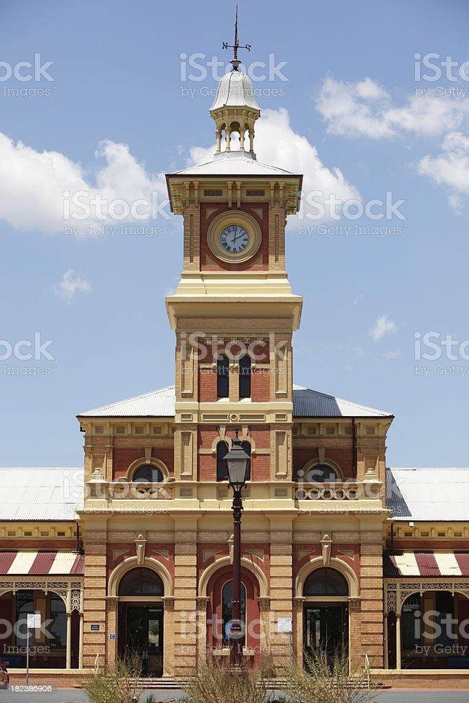 Albury Railway Station stock photo