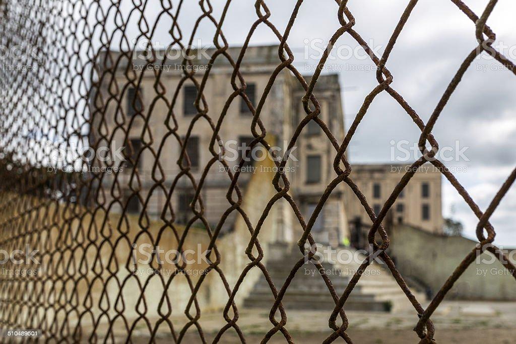 Alcatraz Cell House stock photo