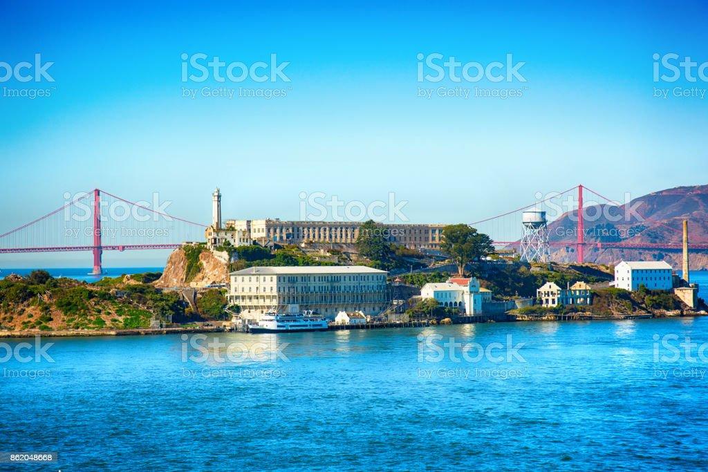 Alcatraz Island National Park stock photo
