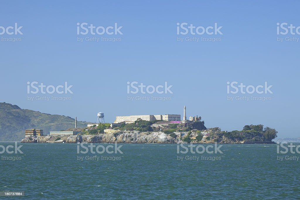 Alcatraz Island royalty-free stock photo