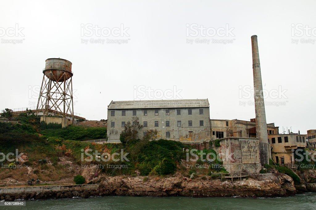 Alcatraz Island - San Francisco - California stock photo