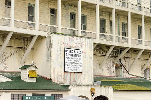 Île d'Alcatraz signer, San Francisco, en Californie - Photo