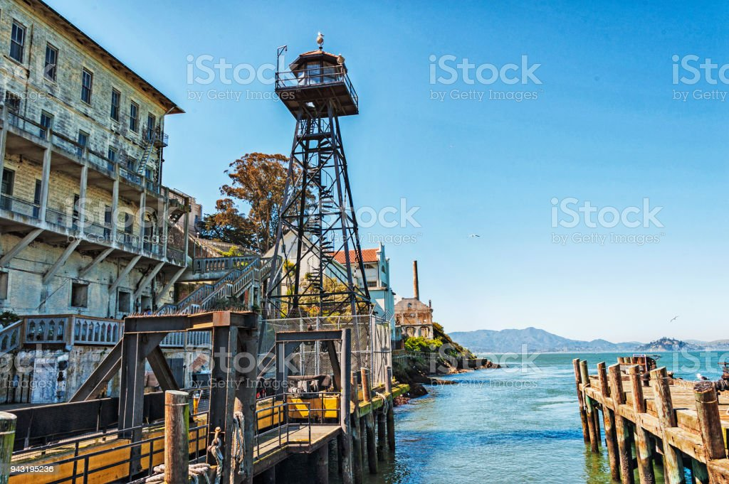 Alcatraz National Park Landing And Views Stock Photo Download