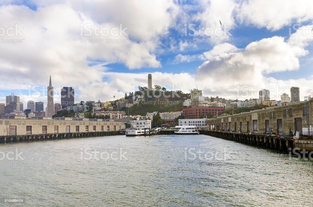 Alcatraz Pier 33, San Francisco stock photo