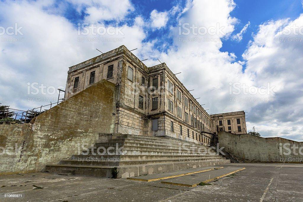 Alcatraz Prison Cell House stock photo