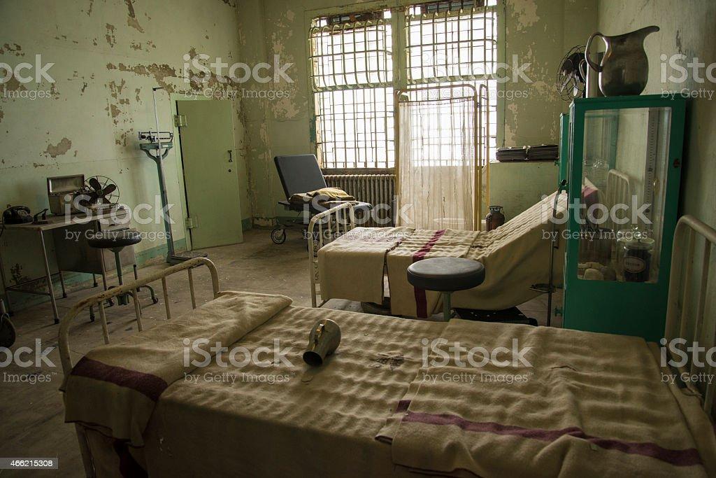 Alcatraz Prison Jail San Francisco cells stock photo