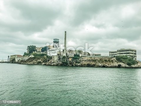 Alcatraz Prison, located in the San Francisco harbor stands as a reminder of days gone by.