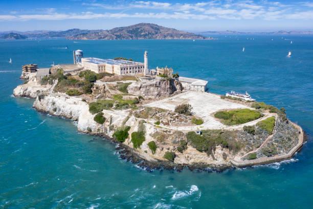 Alcatraz, San Francisco, California, USA stock photo