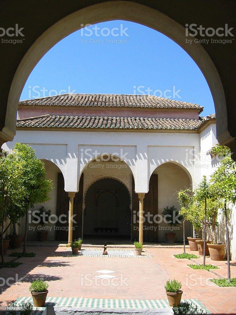Alcazaba stock photo