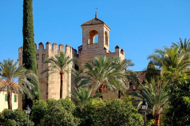 Alcazar de los Reyes Cristianos - Cordoba stock photo