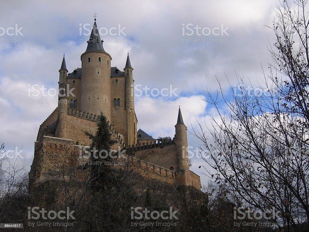 Alcazar de Segovia royalty-free stock photo