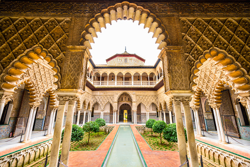 Alcazar Of Seville Stock Photo - Download Image Now