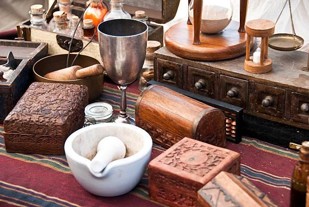 Alchemist Schreibtisch – Foto