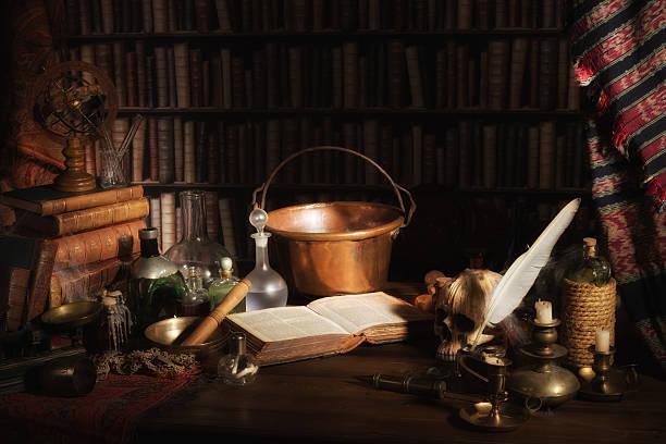 Alchemist Küche oder Labor – Foto