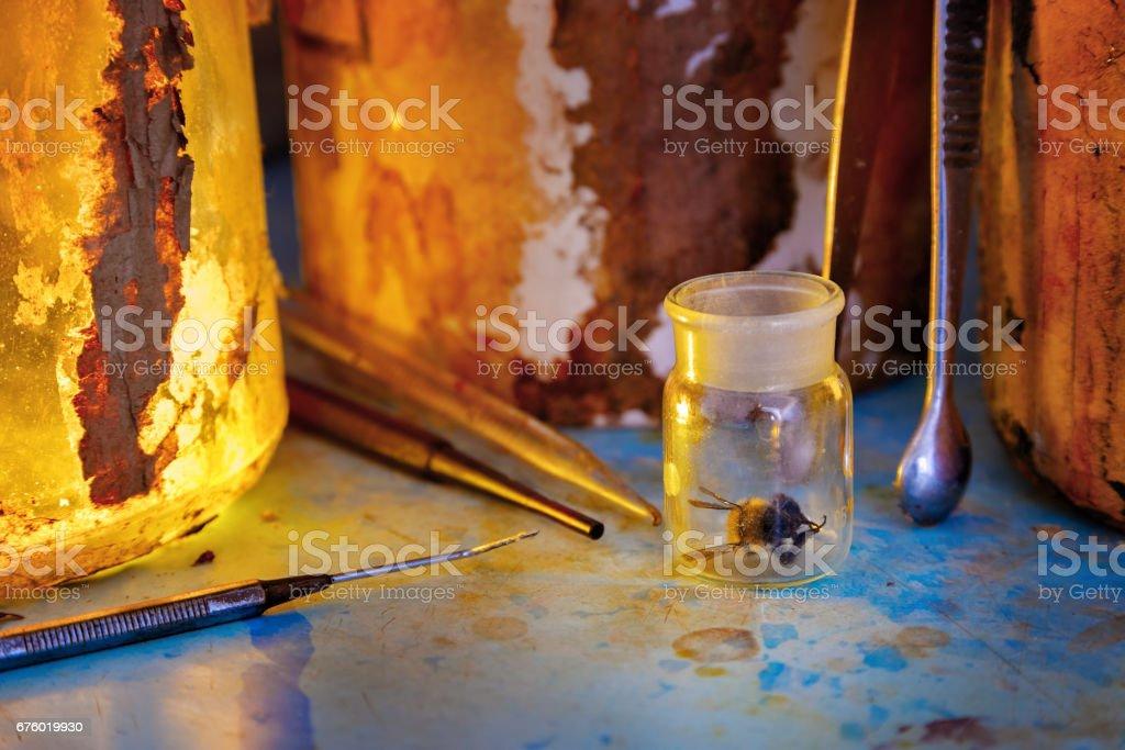 Alchemy stock photo