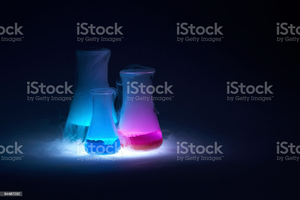 alchemy with place for text stock photo