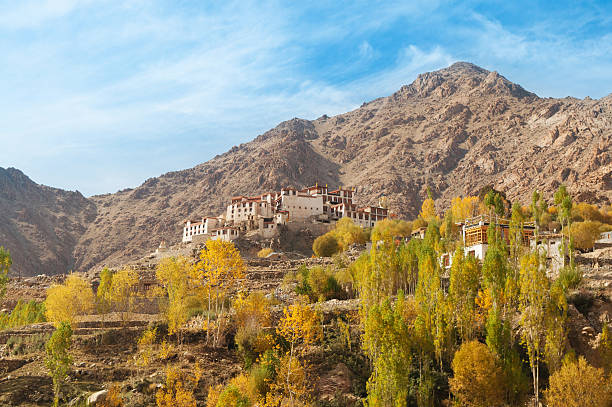 Alchi Monastery in Leh stock photo