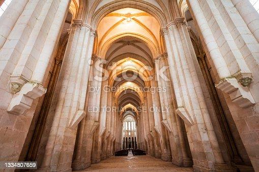 istock Alcobaca Santa Maria Monastery in Portugal 1334807659