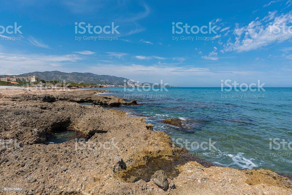 Alcocebre (Castellon, Spain). photo libre de droits