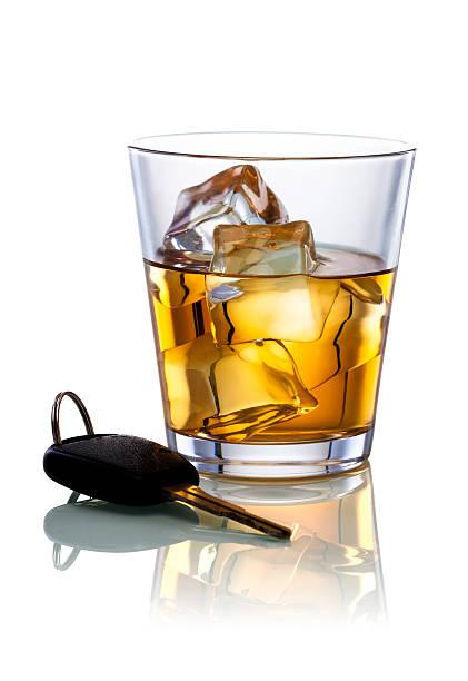 Alcohol and Car Keys stock photo