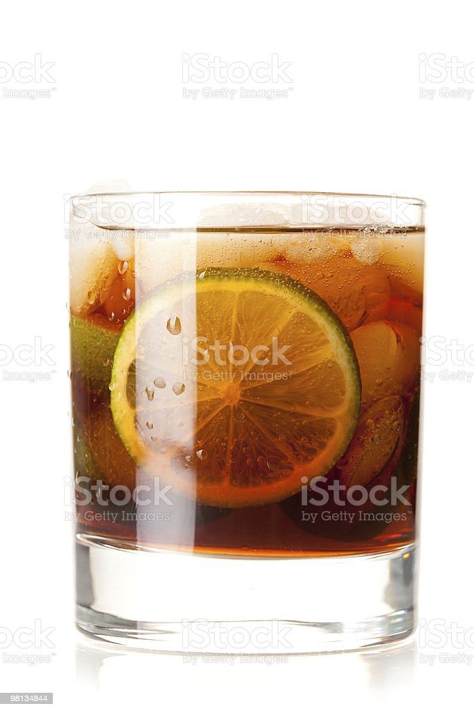 알코올 칵테일 컬레션-쿠바 리브레 royalty-free 스톡 사진