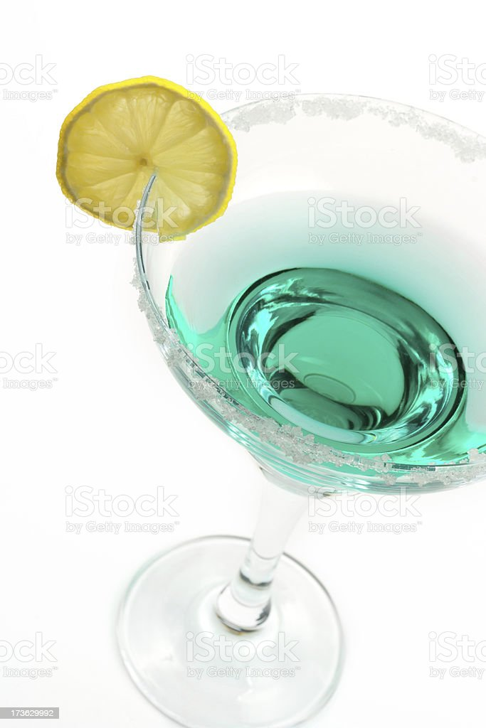 Alcohol cocktail royalty-free stock photo