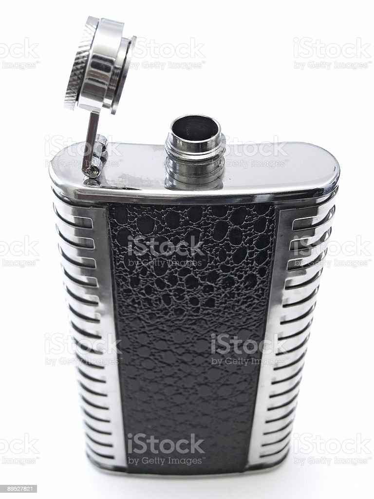 Alcohol flask royalty-free stock photo