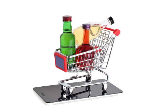Alcohol in market – zdjęcie