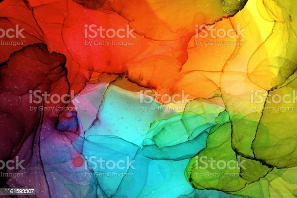 Photo of Alcohol Ink Painting