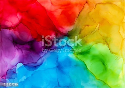 852187968 istock photo Alcohol ink painting 1217827790