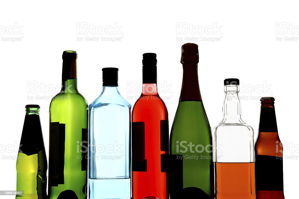 Alcohol stock photo