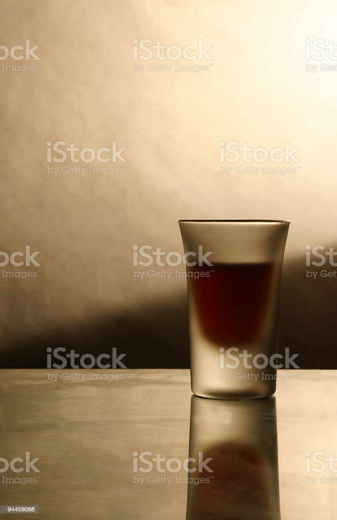Alcohol - Shot Glass royalty-free stock photo
