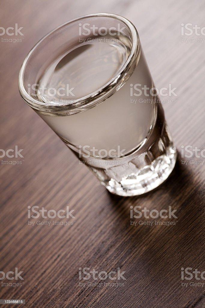 Alcohol shot royalty-free stock photo