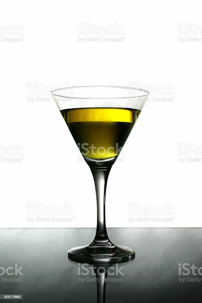 Alcohol - Yellow cocktail 1200 x 1800 royalty-free stock photo